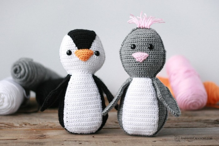 Simple Amigurumi Penguin by Jen Hayes
