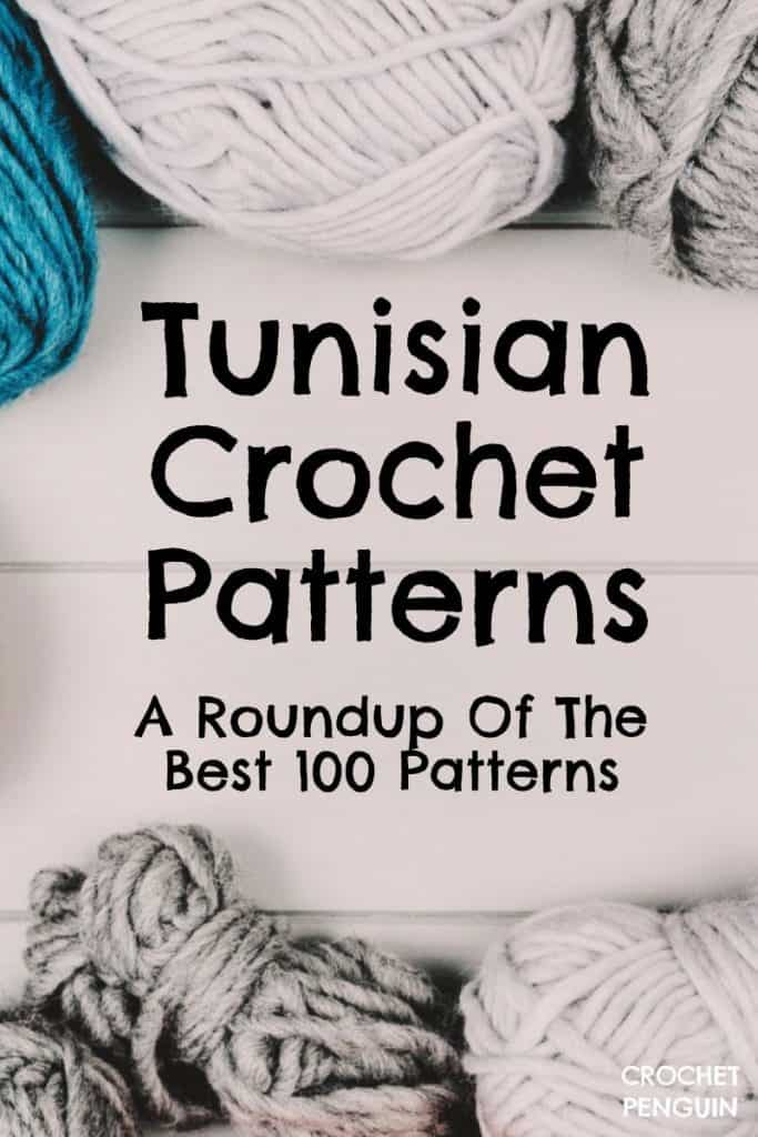 Tunisian Crochet Patterns Roundup