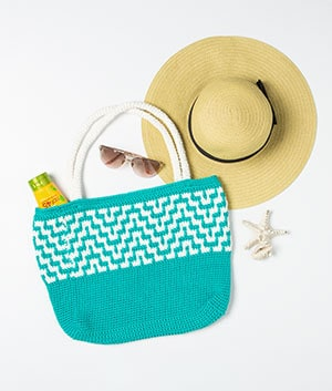 We Crochet Mosaic Tote Bag Kit