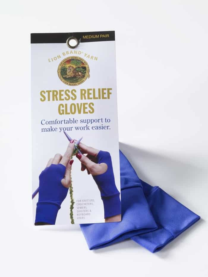 Lion Brand Stress Relief Gloves
