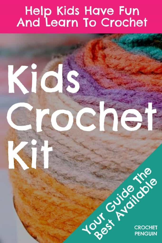 Kids Crochet Kit Pin