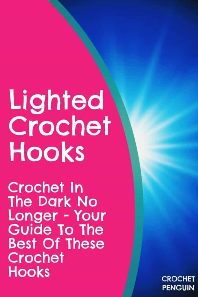 Lighted Crochet Hooks Pin