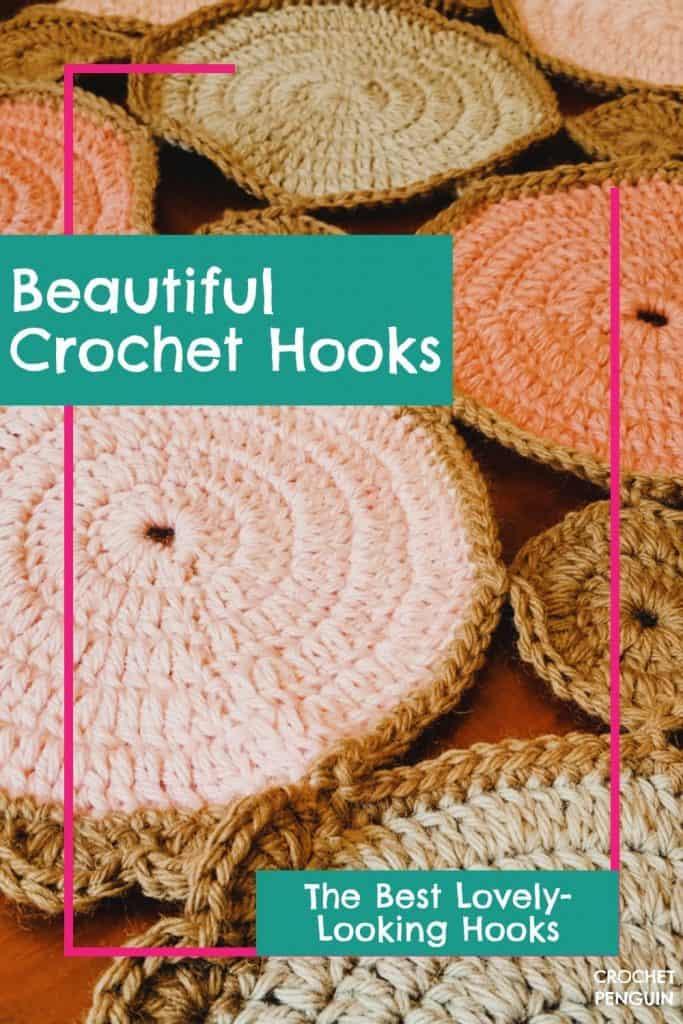 Beautiful Crochet Hooks Pin