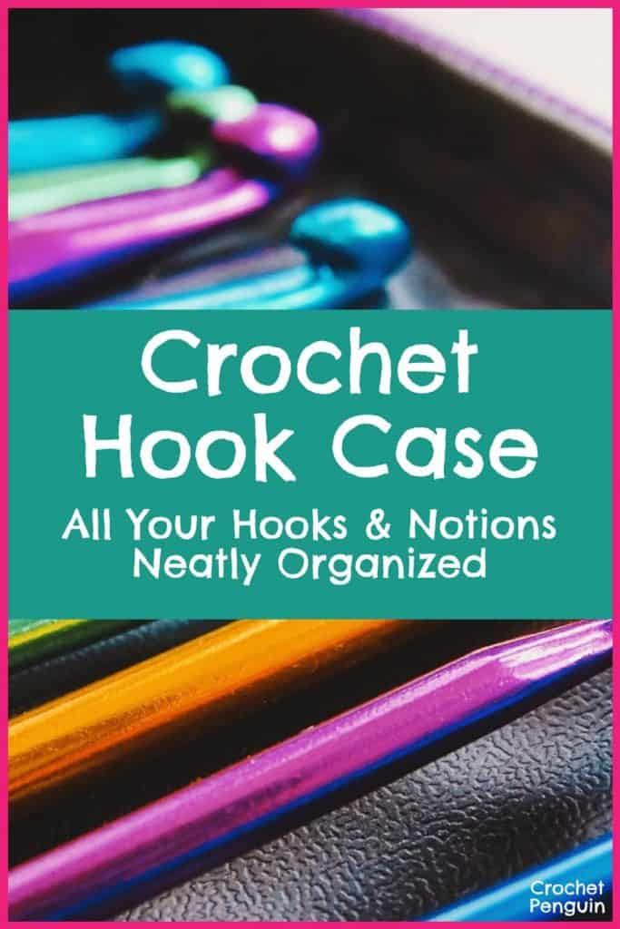 Crochet Hook Case Pin