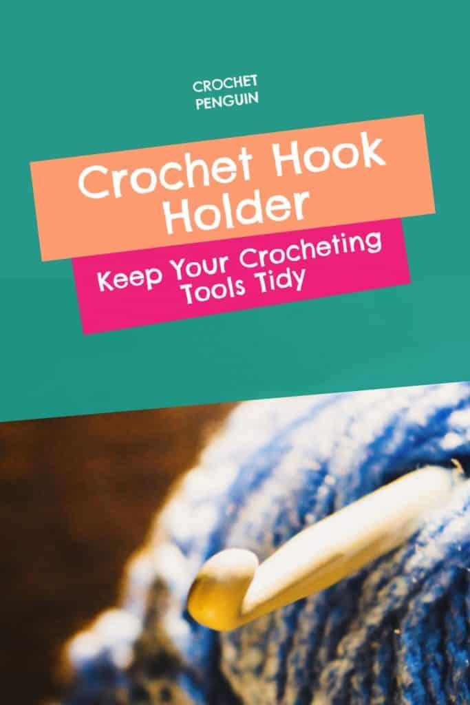 Crochet Hook Holder Pin