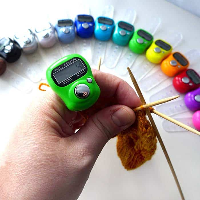 Digital Row Counter for Crocheters from LadyDanio Etsy Store