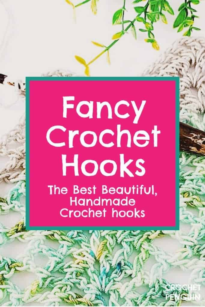 Fancy Crochet Hooks Pin