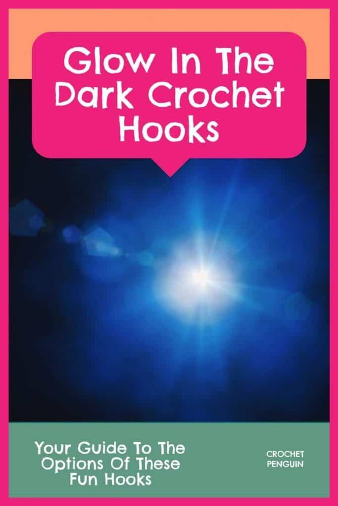 Glow In The Dark Crochet Hooks Pin