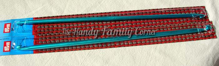 Inox Prym Double Afghan Tunisian Crochet Hook from Handy Family Etsy Store