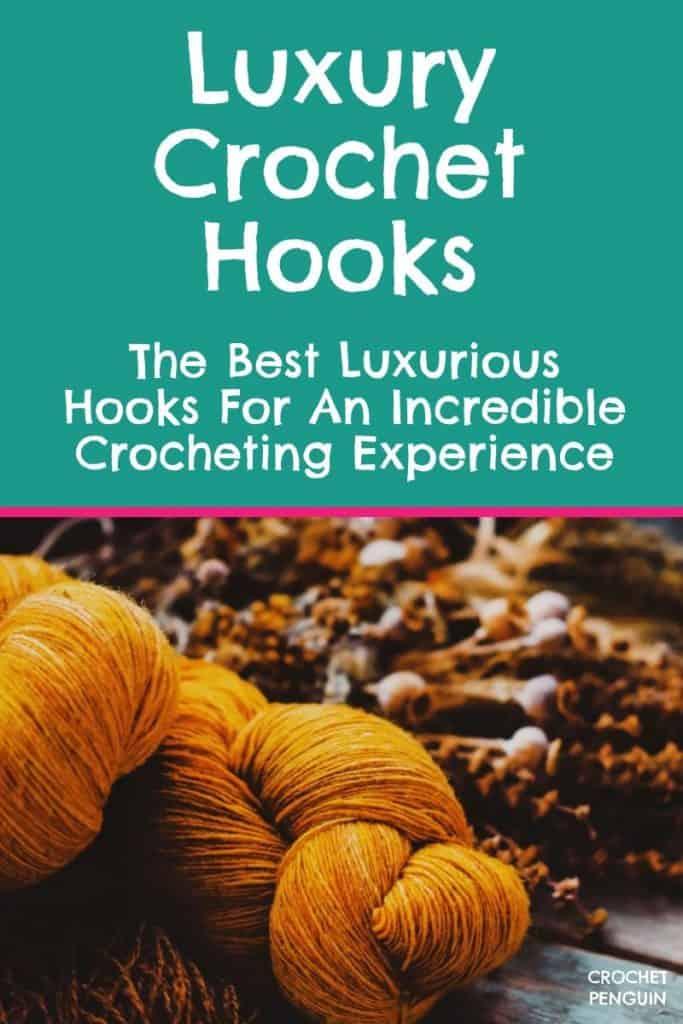 Luxury Crochet Hooks Pin