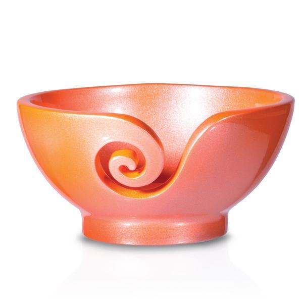 Odyssey Peach Yarn Bowl