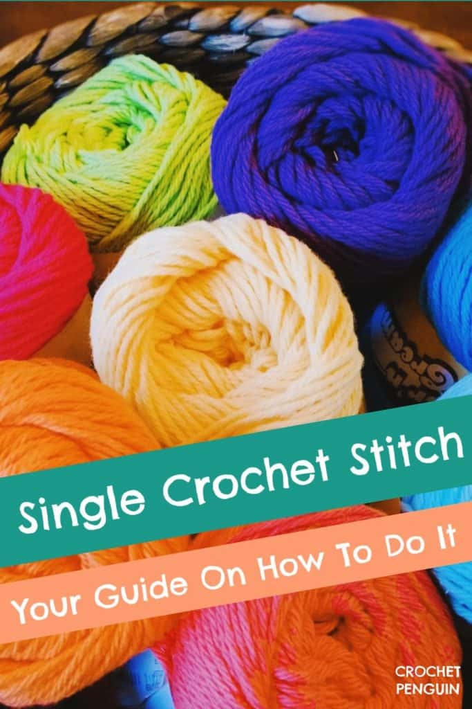 Single Crochet Pin