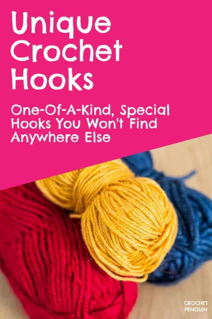 Unique Crochet Hooks Pin