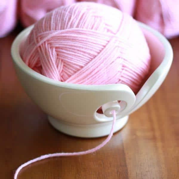 White Odyssey Yarn Bowl