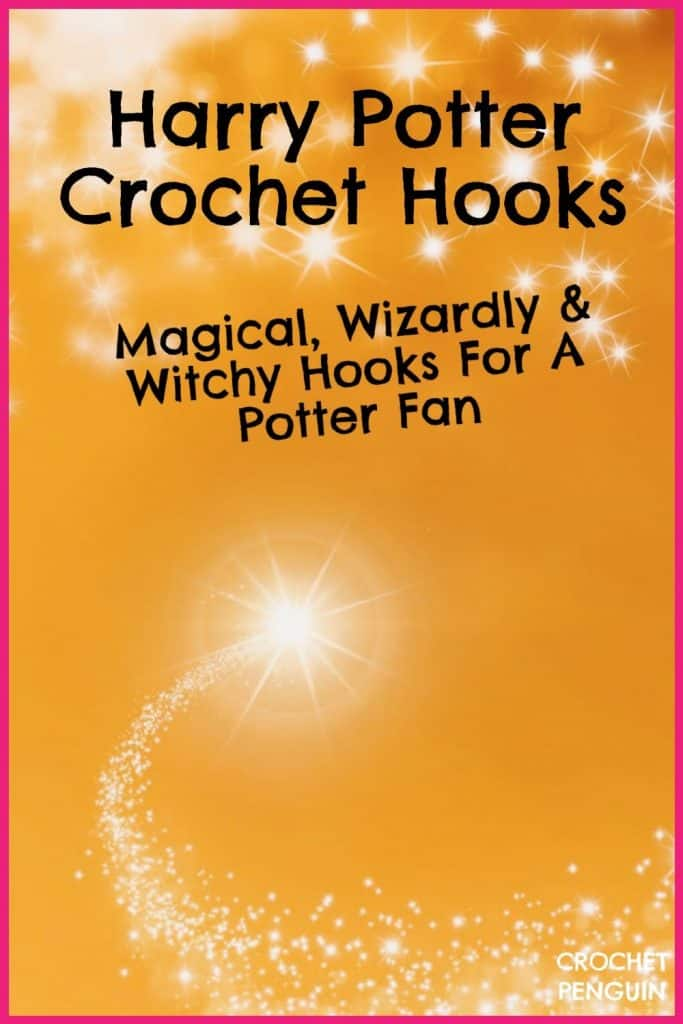 Harry Potter Crochet Hooks Pin