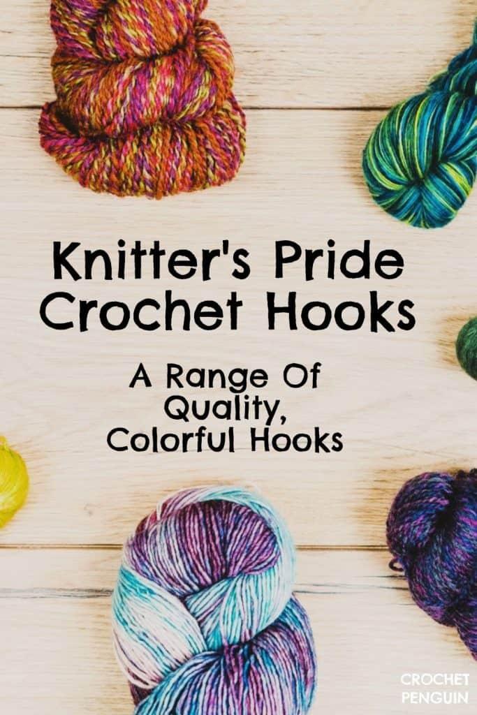 Knitters Pride Crochet Hooks Pin