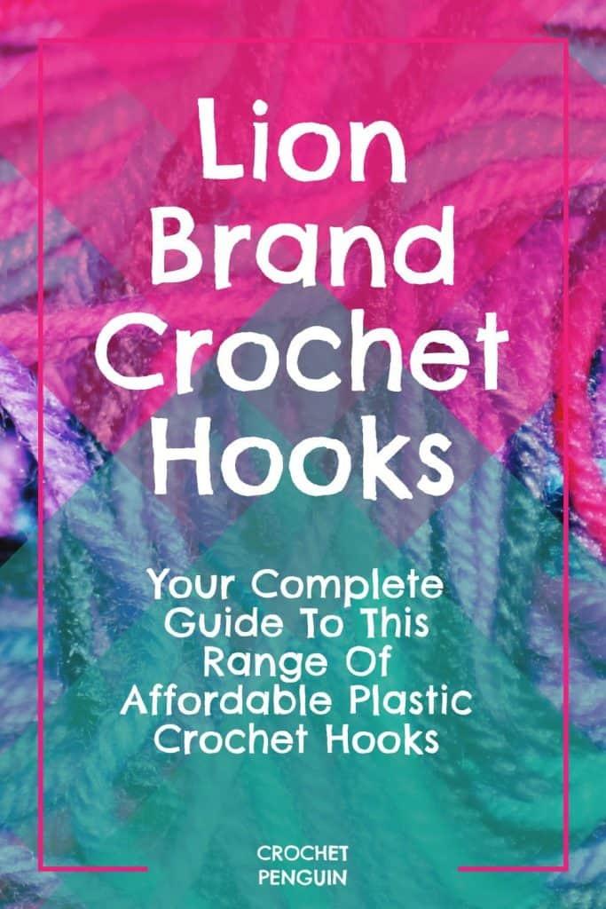 Lion Brand Crochet Hooks Pin
