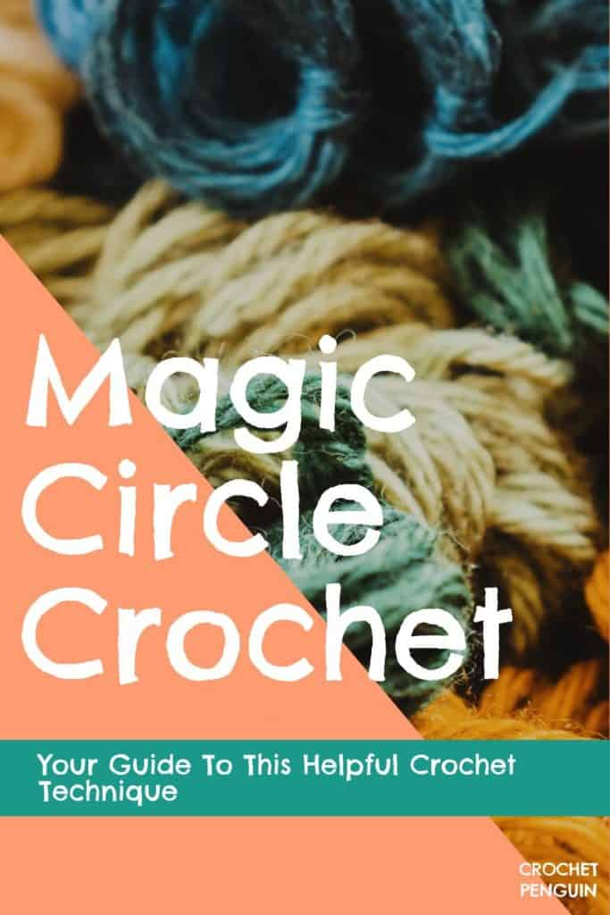 Magic Circle Crochet Pin