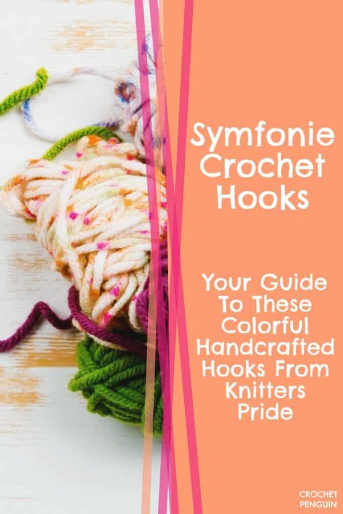 Symfonie Crochet Hooks Pin