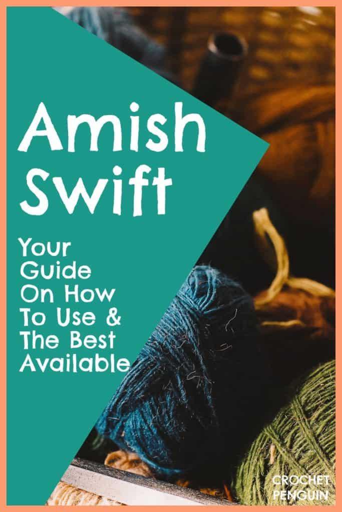 Amish Swift Pin