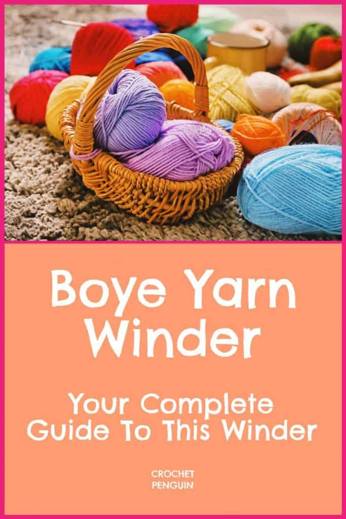 Boye Yarn Winder Pin