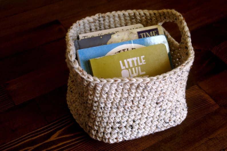 HayCreekRoadBoutique Crocheted Basket