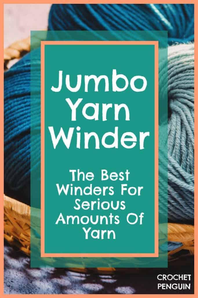 Jumbo Yarn Winder Pin