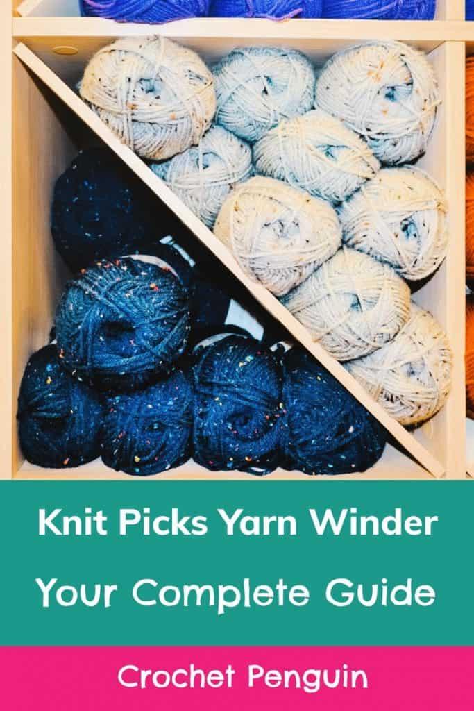 Knit Picks Yarn Winder Pin