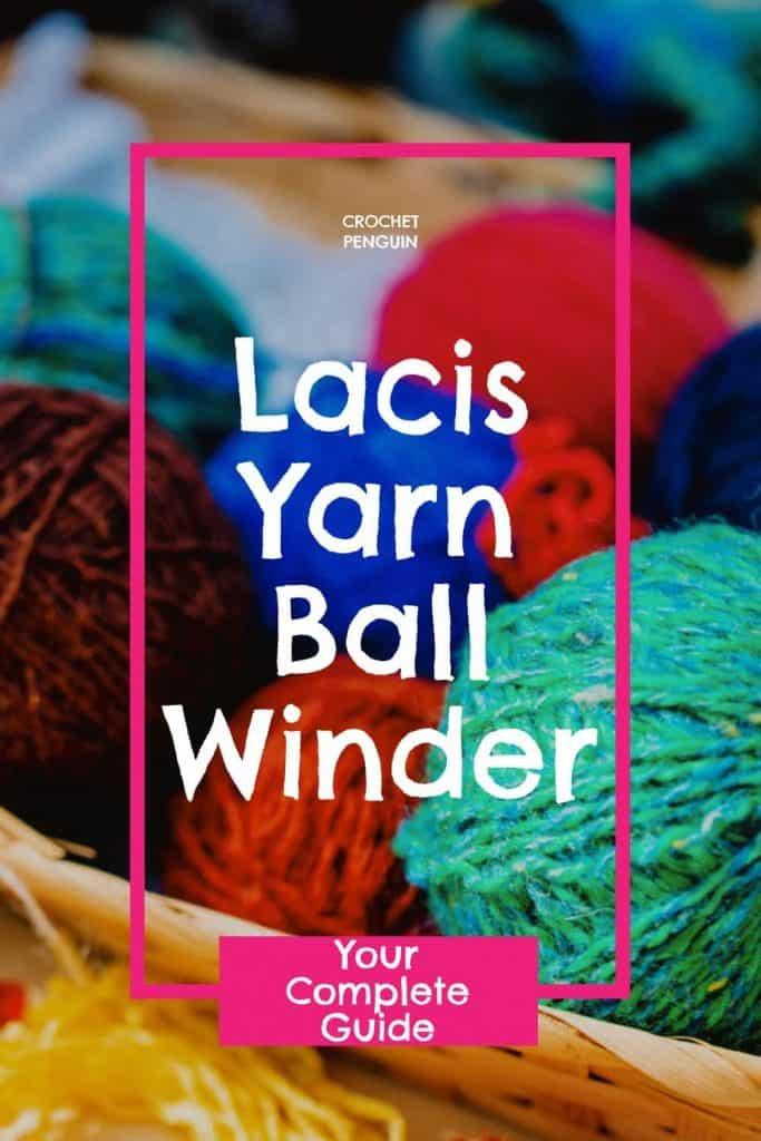 Lacis Yarn Ball Winder Pin