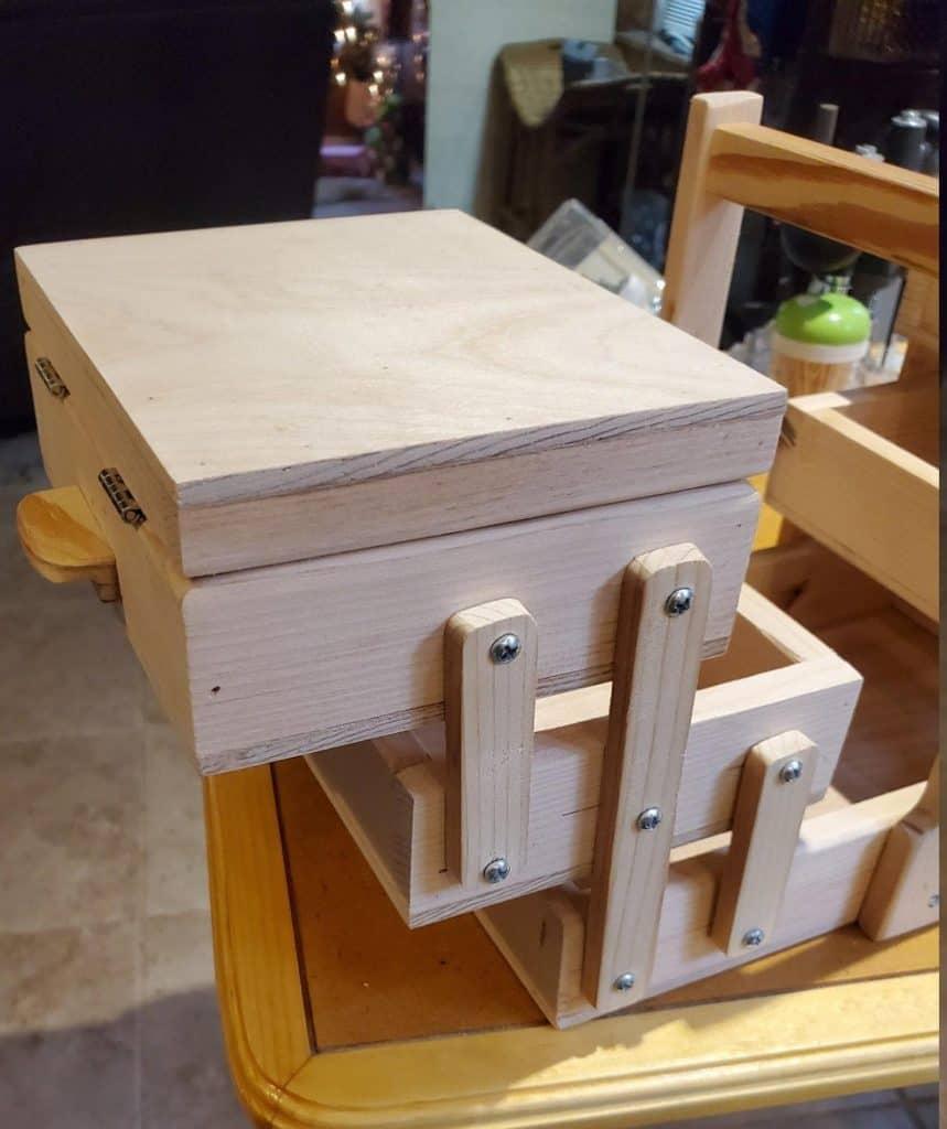 PennieKays Hobby Sewing Accordian Box