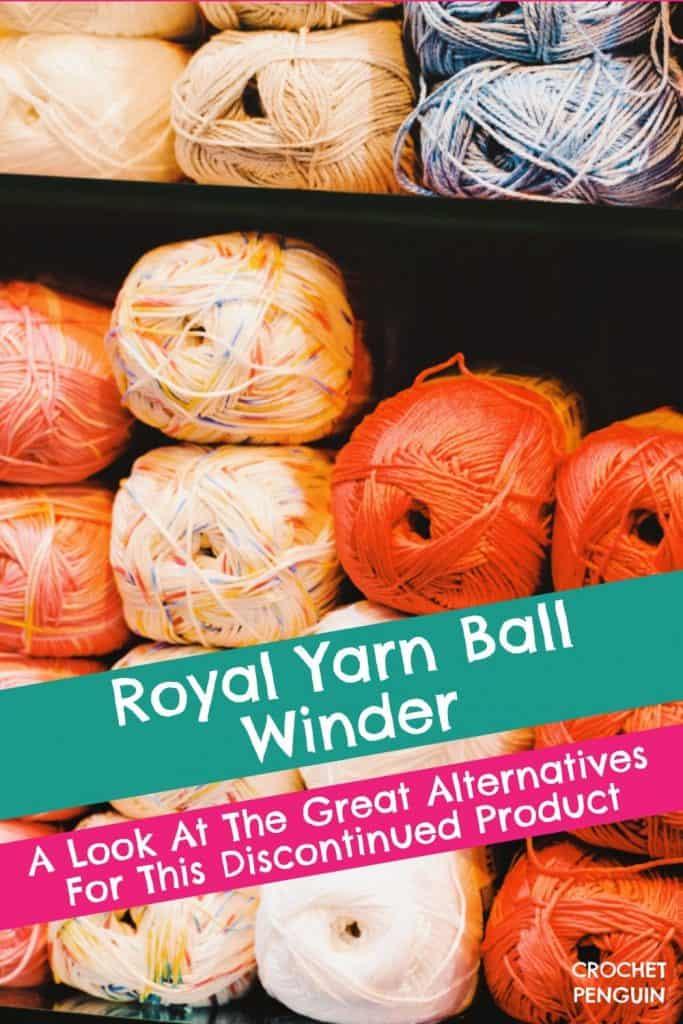 Royal Yarn Ball Winder Pin