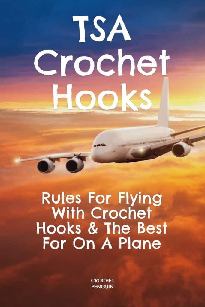 TSA Crochet Hooks Pin