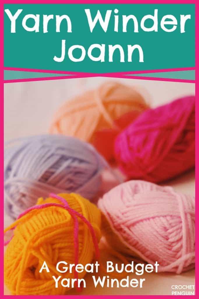 Yarn Winder Joann Pin