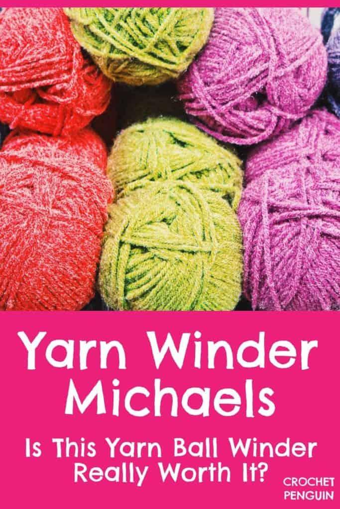 Yarn Winder Michaels Pin