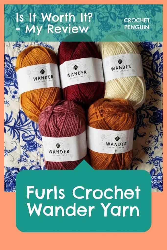 Furls Wander Yarn Pin