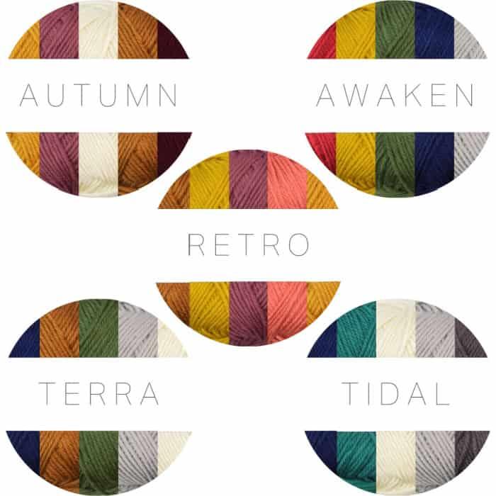 Wander Yarn Palette Packs
