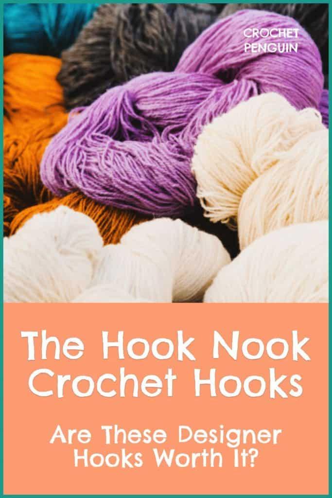 Hook Nook Crochet Hooks Pin
