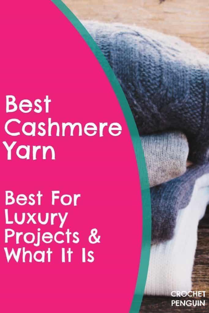 CROP Cashmere Yarn Pin
