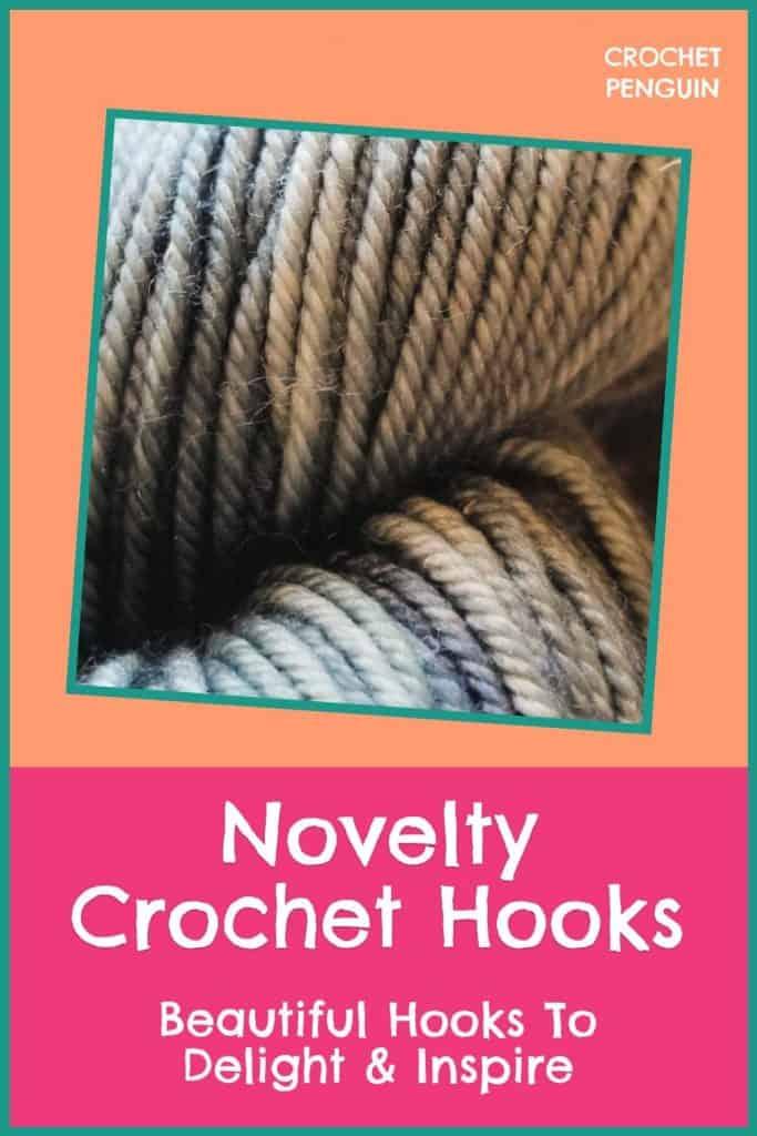 Novelty Crochet Hooks Pin