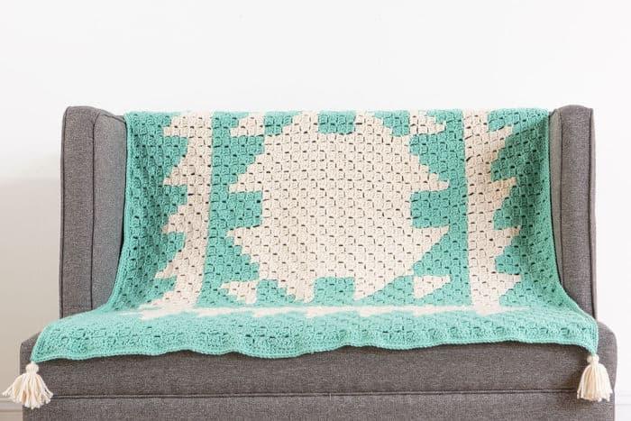 We Crochet C2C Afghan Kit Tranquil