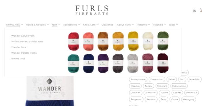 Furls Crochet Website