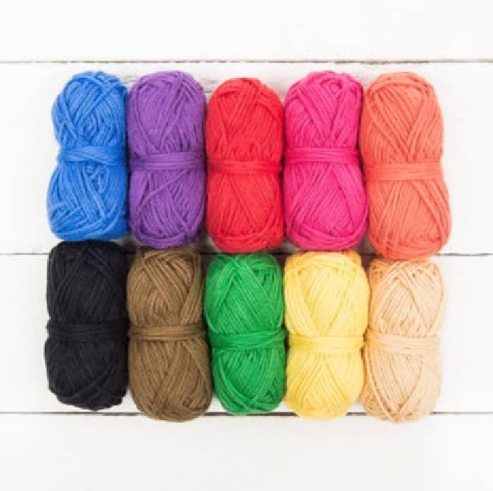 Katia Amigurumi 10 Pack yarn