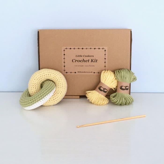 Little Conkers crocheted kids toy kit